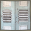 Antique Mediterranean Louvered Shutters