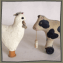 Antique Painted Cloth Animal Toys