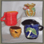 Primitive Folk Art Ceramic Ware
