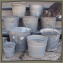 Old Galvanized Buckets