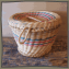 Lidded Pine Needle Basket