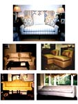 Custom Built Seating, Restoration and Re-upholstery of Antique Furniture, Carol Tate Co, Seattle.